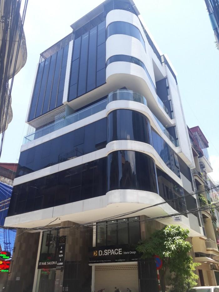 Bán nhà Nguyên Hồng Huỳnh Thúc Kháng Đống Đa 90m2 x8 tầng mặt tiền 8m thang máy giá 32 tỷ,