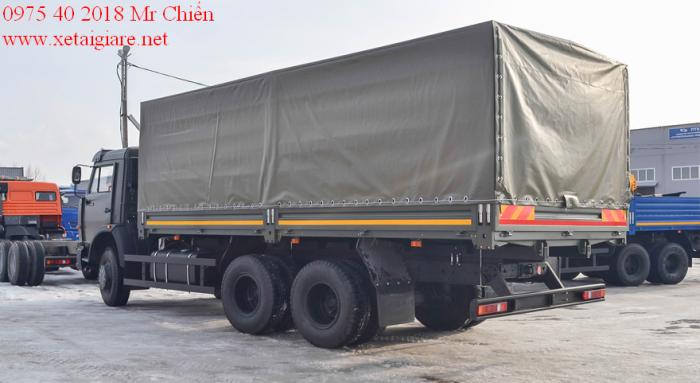 Xe Tải Thùng kamaz 53229 (6x4) Euro-2 thùng ngắn. tiết kiệm nhiên liệu?
