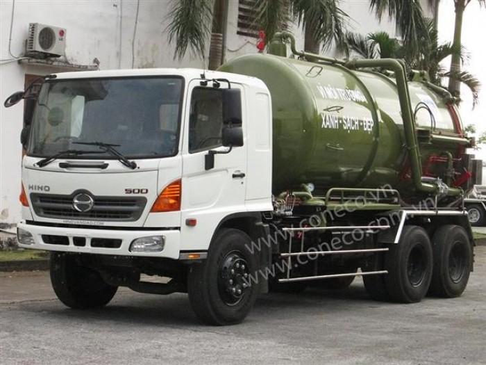 Xe hút chất thải 12 khối (12m3) 3