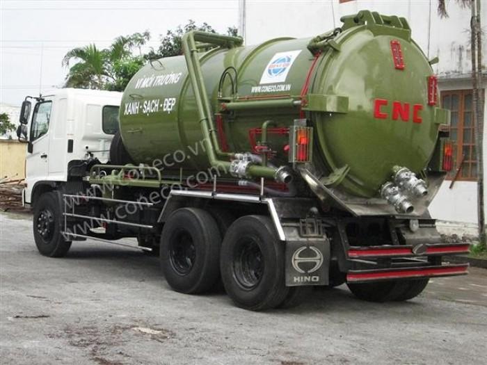 Xe hút chất thải 12 khối (12m3) 2