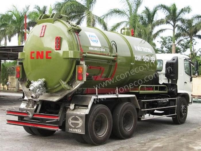 Xe hút chất thải 12 khối (12m3)