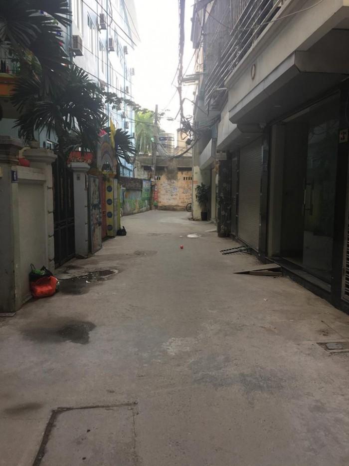 Bán nhà 5 tầng xây mới đường Hồ Tùng Mậu ô tô vào nhà