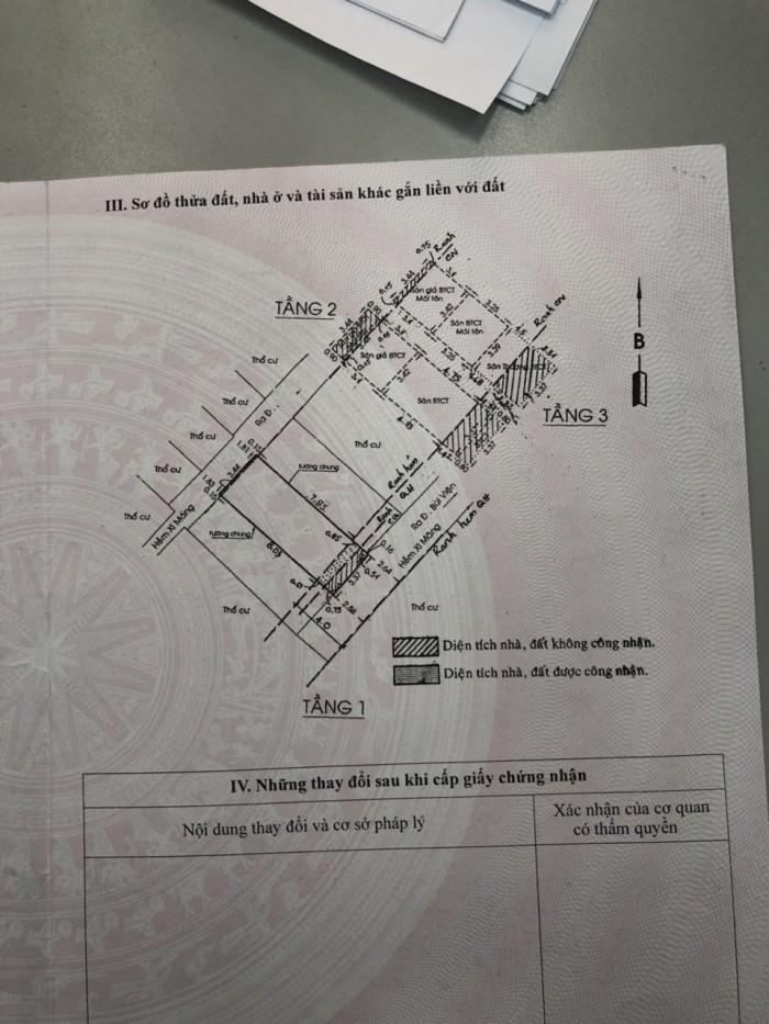 Bán nhà Bùi Viện, quận 1 - (DT: 3,37m x 9m - NH: 3,44m)