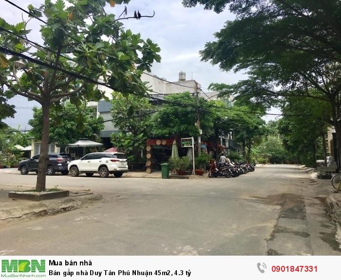 Bán gấp nhà Duy Tân Phú Nhuận 45m2