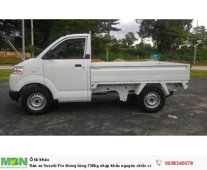 Bán xe Suzuki Pro thùng lửng 750kg nhập khẩu nguyên chiếc có bán tại Đại Lý Đồng Nai 1