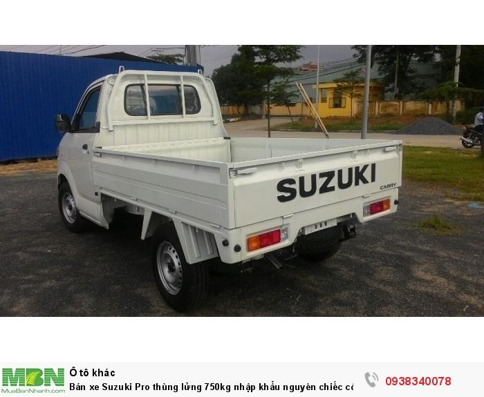 Bán xe Suzuki Pro thùng lửng 750kg nhập khẩu nguyên chiếc có bán tại Đại Lý Đồng Nai 4
