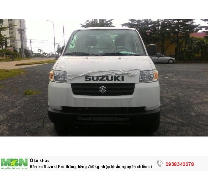 Bán xe Suzuki Pro thùng lửng 750kg nhập khẩu nguyên chiếc có bán tại Đại Lý Đồng Nai 5