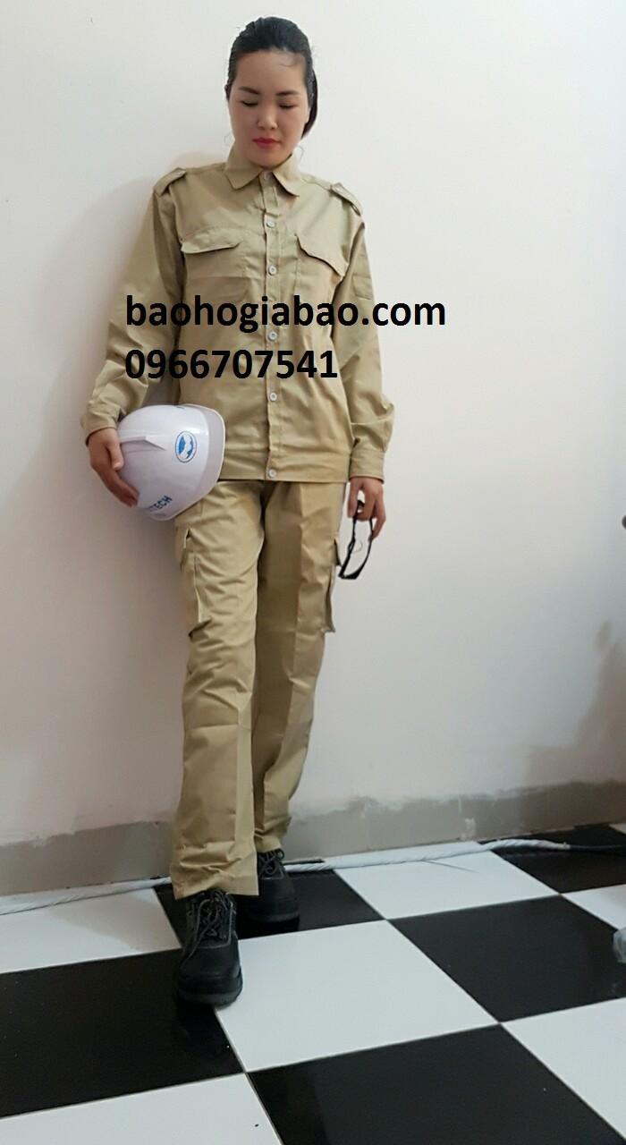 Cung cấp quần áo túi hộp màu ghi dành cho kỹ sư giá giẻ tại hà nội