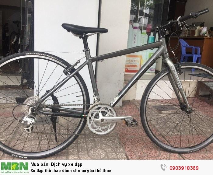 Xe đạp thể thao dành cho ae yêu thể thao