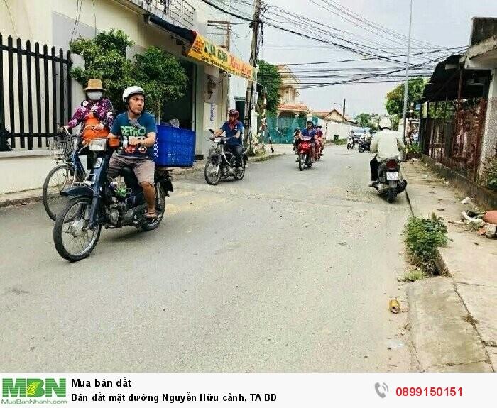Bán đất mặt đường Nguyễn Hữu cảnh, TA BD