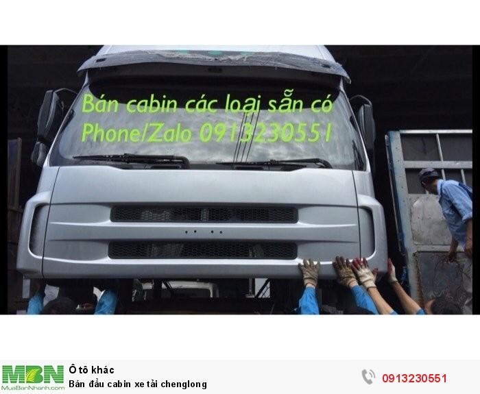 Bán đầu cabin xe tải Chenglong