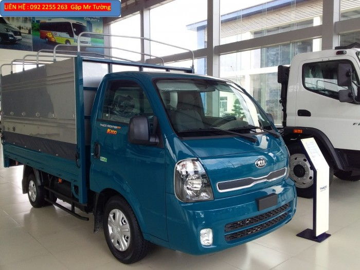 Bán xe tải mới Kia K200, tải trong 1.9 tấn, đời mới nhất 2018, Euro4.