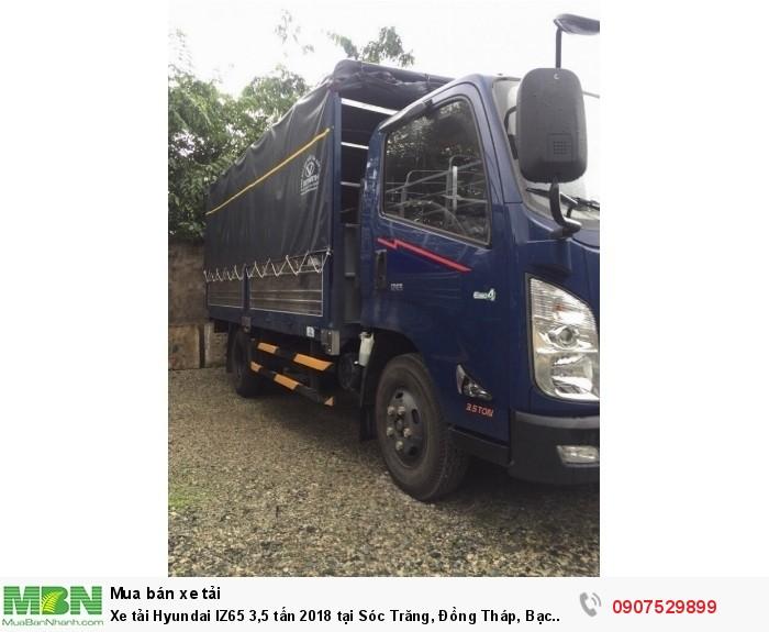 Xe tải Hyundai IZ65 3,5 tấn 2018 tại Sóc Trăng, Đồng Tháp, Bạc Liêu, Cần Thơ 2