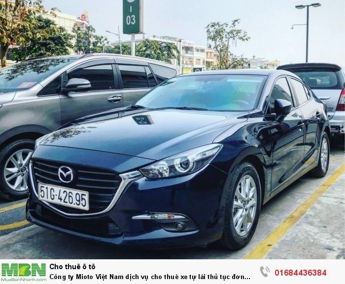 Công ty Mioto Việt Nam dịch vụ cho thuê xe tự lái thủ tục đơn giản tại TP HCM