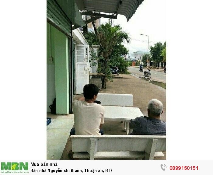 Bán nhà Nguyễn chí thanh, Thuận an, BD