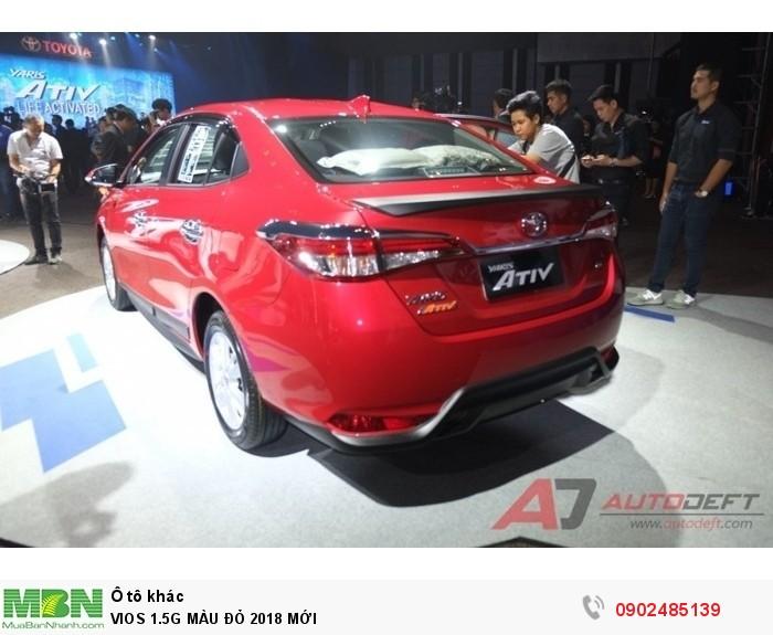 Toyota Vios 1.5G MÀU ĐỎ GIAO NGAY 1