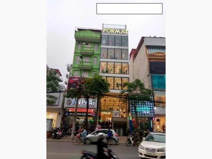 Bán nhà 90m2x6 tầng,Mt5m,thang máy,mặt phố Trần Duy Hưng,Cầu Giấy,HN