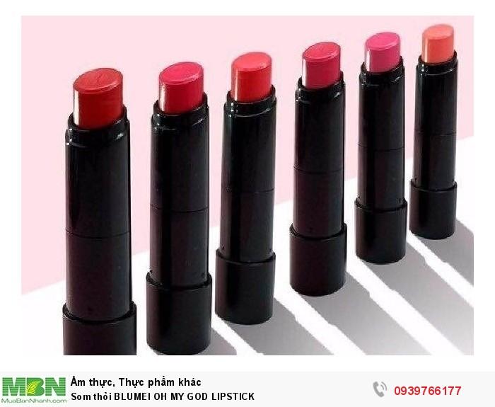 Som Thỏi Blumei Oh My God Lipstick3