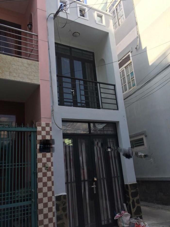 Không có căn thứ 2 bán nhà ngã tư Bảy Hiền Phường 4 Tân Bình 2Tầng HXH 7m 19m2