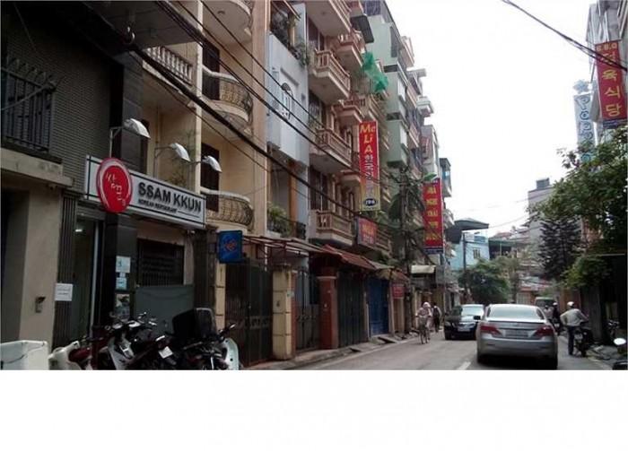 Có nhà phân lô, phố Nguyễn Thị Định 50, 5 tầng, kinh doanh cực đỉnh.