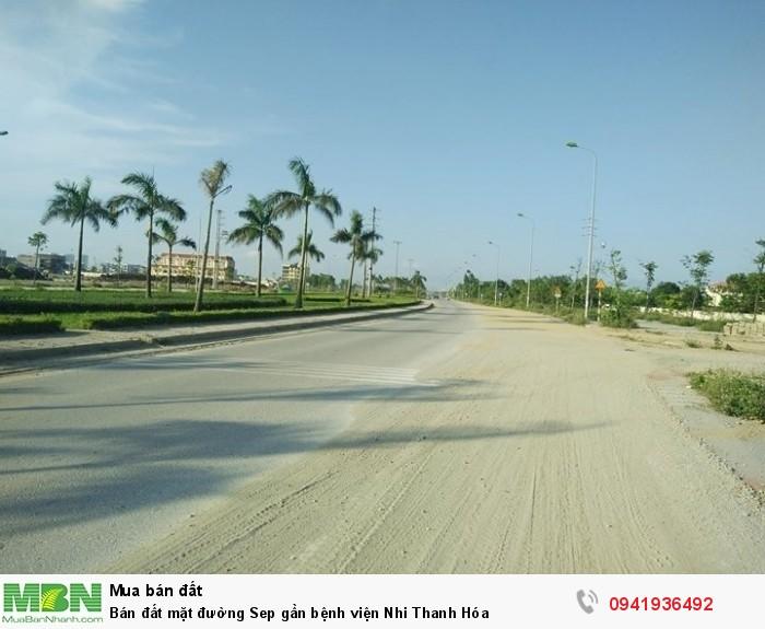 Bán đất mặt đường Sep gần bệnh viện Nhi Thanh Hóa