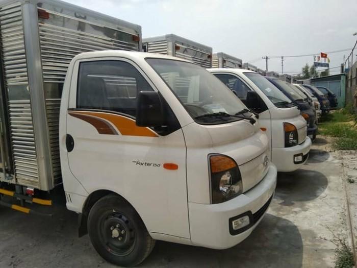 Xe tải Hyundai New Porter H150 thùng mui bạt  - 1.5 tấn vào được nội Thành Phố 2