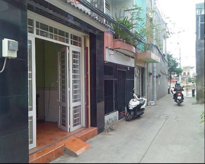 Nhà mặt tiền đường dây thép huyện bình chánh sổ Hồng.