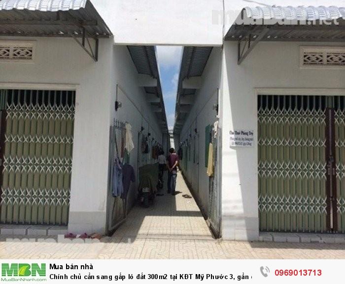 Chính chủ cần sang gấp lô đất 300m2 tại KĐT Mỹ Phước 3, gần chợ trường học