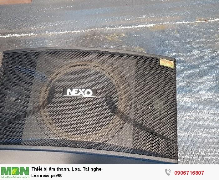 Loa nexo ps9000