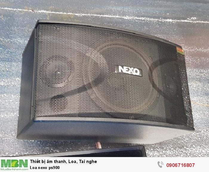 Loa nexo ps9001