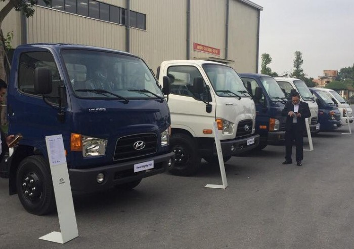 Giá Xe Hyundai New Mighty 110s Thành Công