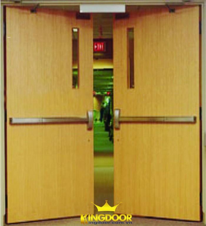 Chuyên cung cấp cửa gỗ chống cháy ở sài gòn, bình dương đồng nai1