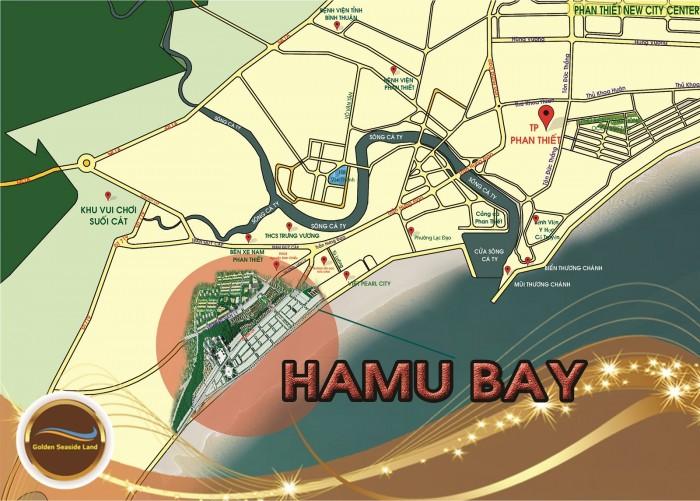 Đất lấn biển HAMUBAY Phan Thiết tiềm năng du lịch cao