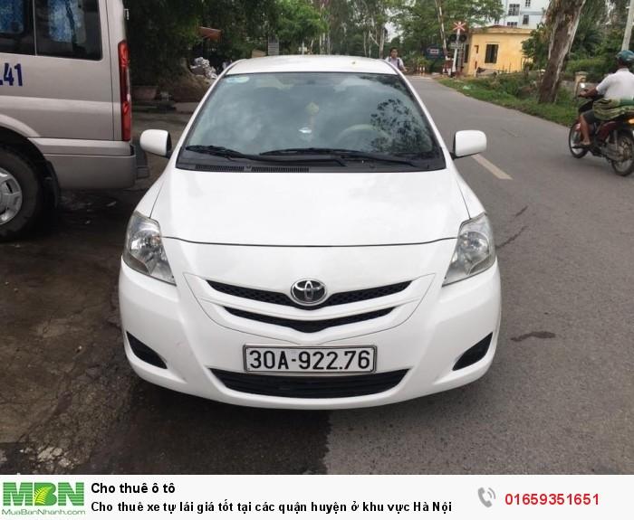 Cho thuê xe tự lái giá tốt tại các quận huyện ở khu vực Hà Nội