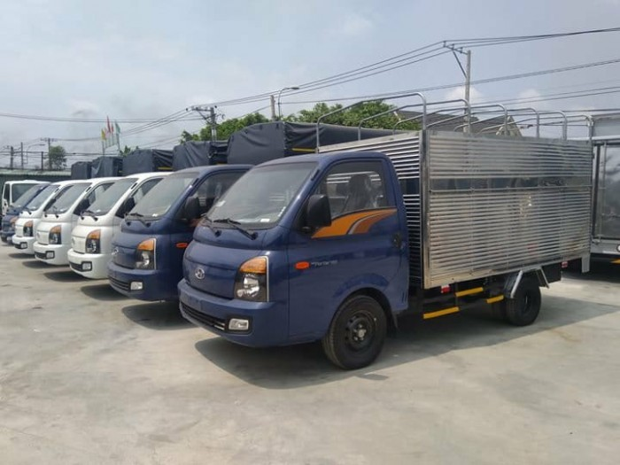 Giá Xe Tải Hyundai Porter H150 1.5 Tấn Thùng Kín Euro4 2018 - Tặng Kèm Định Vị GPS 3