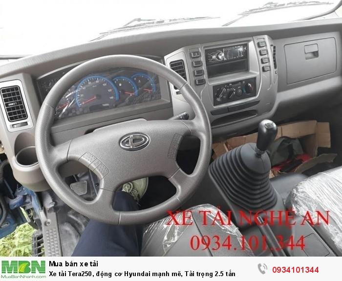 Xe tải Tera250, động cơ Hyundai mạnh mẽ, Tải trọng 2.5 tấn 2