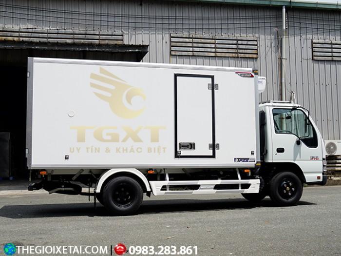 Bán xe tải Isuzu 1T9 đông lạnh xe tải đông lạnh Isuzu 1T9 QKR, hỗ trợ trả góp 90% giá trị xe .