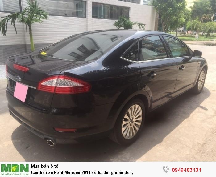 Cần bán xe Ford Mondeo 2011 số tự động màu đen,