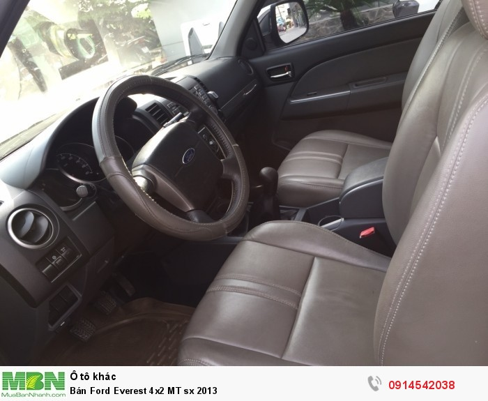 Bán Ford Everest 4x2 MT sx 2013 1