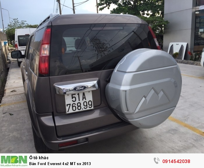 Bán Ford Everest 4x2 MT sx 2013 0