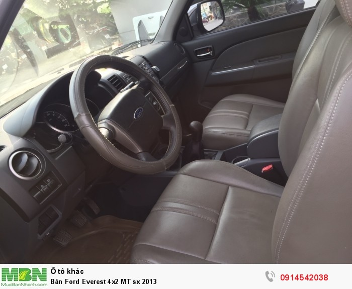 Bán Ford Everest 4x2 MT sx 2013 2