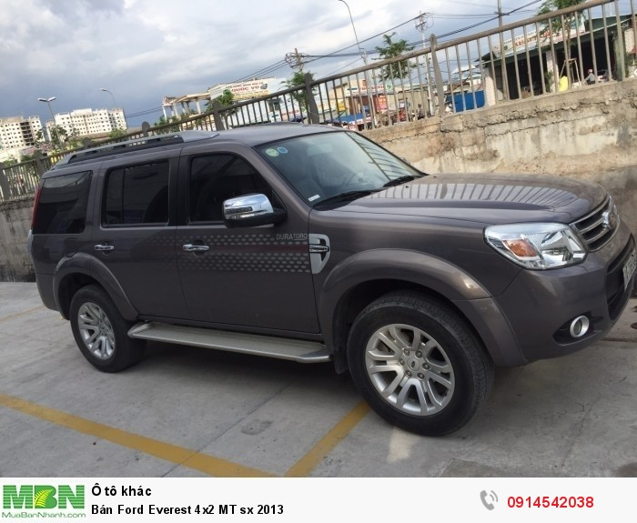 Bán Ford Everest 4x2 MT sx 2013 3
