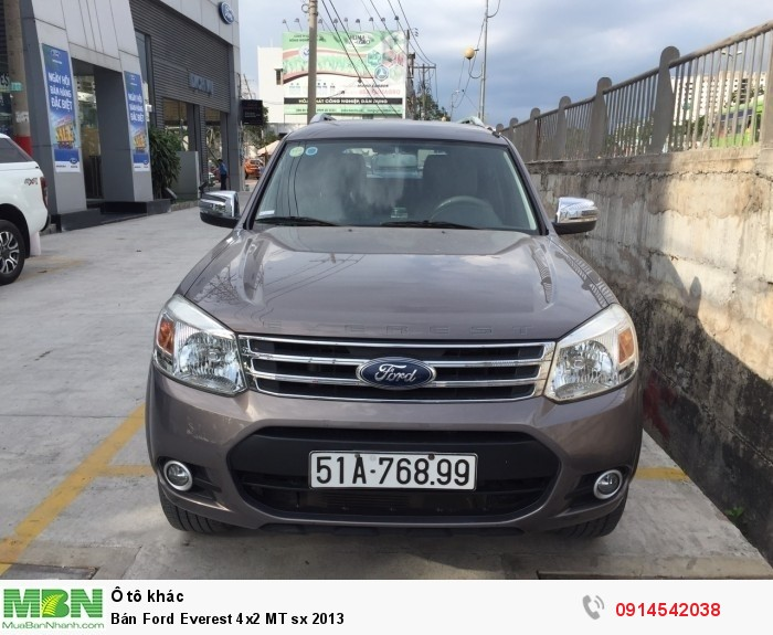 Bán Ford Everest 4x2 MT sx 2013 6