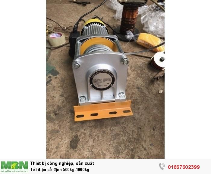 Tời điện cố định 500kg-1000kg