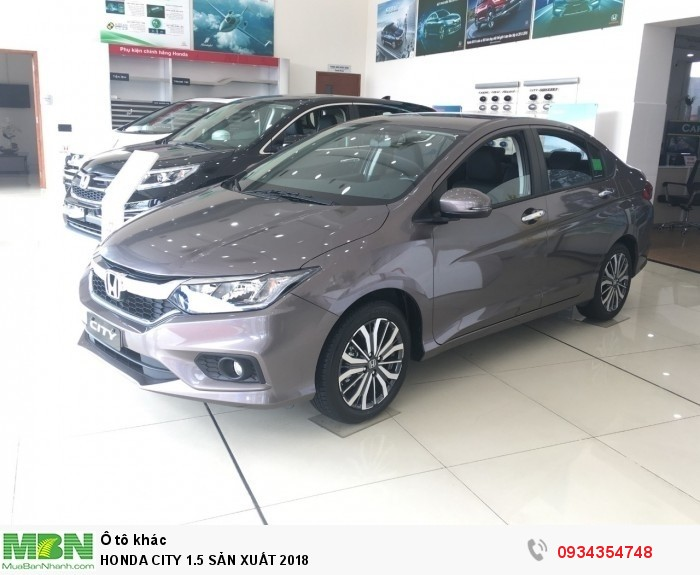 Honda City 1.5 Sản Xuất 2018 2