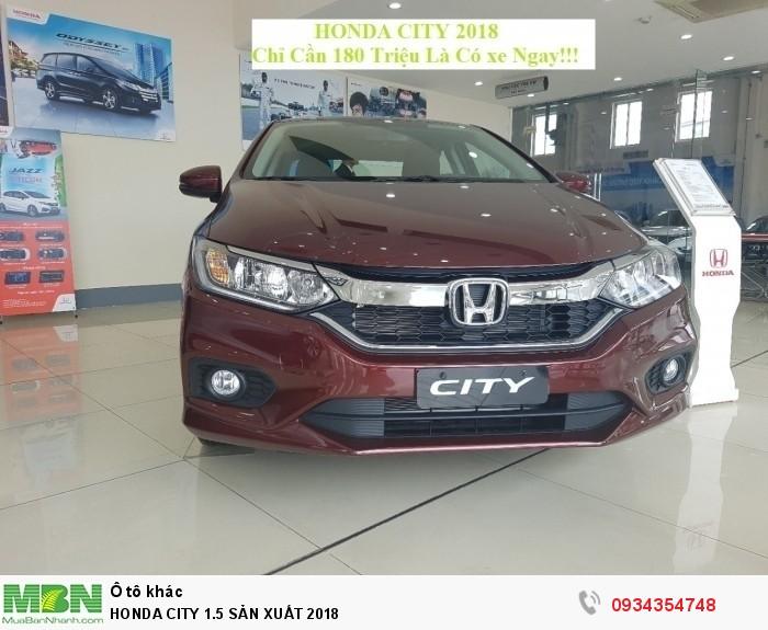 Honda City 1.5 Sản Xuất 2018 3