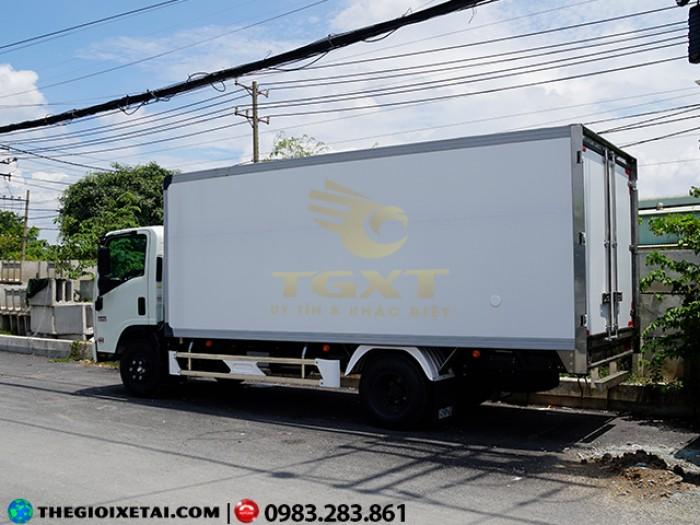 Bán xe tải 3T5 thùng đông lạnh xe tải isuzu 3T5 đông lạnh Trả góp 90%.