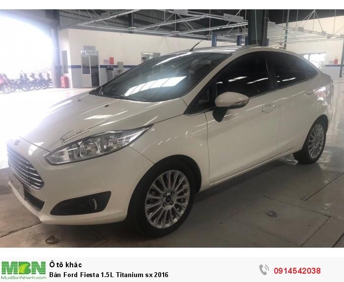Bán Ford Fiesta 1.5L Titanium sx 2016