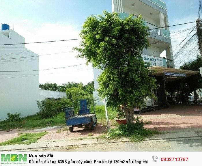 Đất nền đường 835B gần cây xăng Phước Lý 120m2 sổ riêng