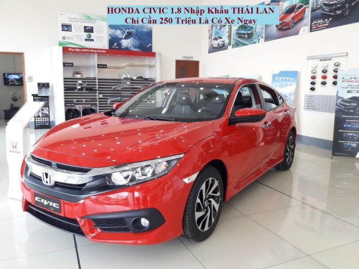 Honda Civic 1.8 Nhập Khẩu Nguyên Chiếc Từ Thái Lan 3